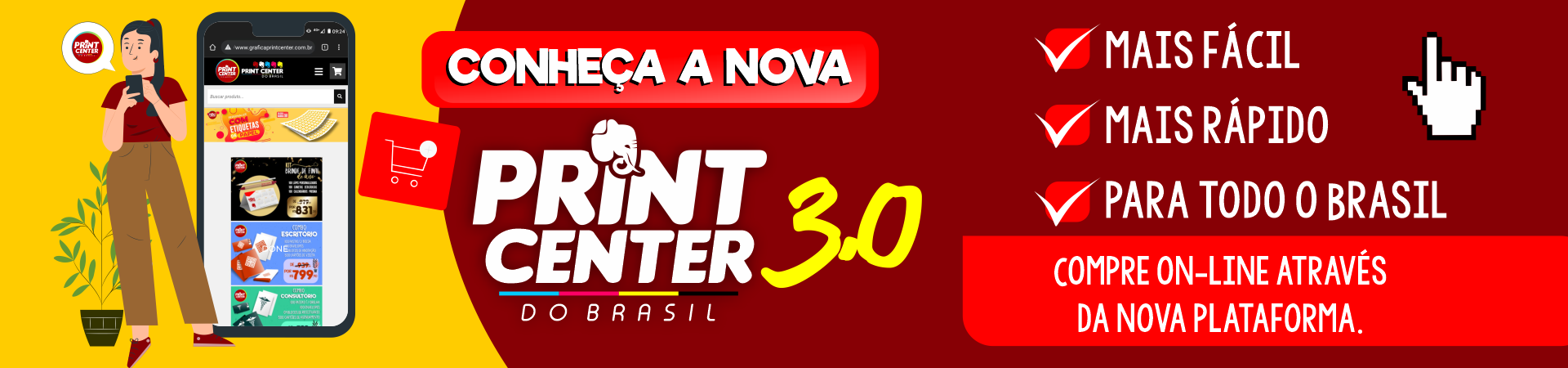 Gráfica Print Center do Brasil
