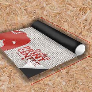 Adesivo Perfurado Adesivo Perfurado  4x0 Perfurado Em Rolo Impressão Digital