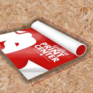 Adesivo Vinil Laminado Adesivo Fosco  4x0 Laminado (camada de proteção) Em Rolo Impressão Digital