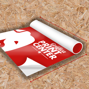 Adesivo Vinil Adesivo Fosco  4x0 Sem Revestimento Em Rolo Impressão Digital