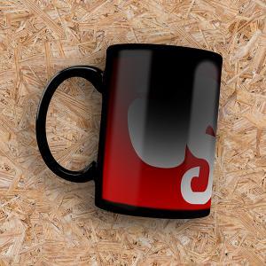 Canecas Termosensível Personalizada Cerâmica 300ml 4X0 - Colorido Frente Impressão Sublimática Padrão Incluso 1 caixinha branca sem personalização