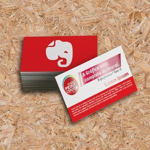 Cartão de Visitas - Laminado Fosco e Verniz Localizado Couche 300gr Padrão - 8,8 x 4,8cm 4X0 - Colorido Frente Laminado Fosco e Verniz Localizado Corte Reto Sem Extra