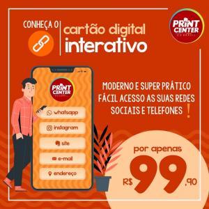 Cartão Digital Interativo  Digital    Interativo