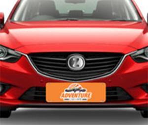 Cobra Placa - Para Carro Couche 300gr Para Carro (43,6cm x 14,5cm) 4X0 - Colorido Frente Sem Revestimento Corte Reto Sem Extra