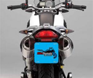 Cobra Placa - Para Moto Couche 300gr Para Moto (20,5cm x 17,5cm) 4X0 - Colorido Frente Sem Revestimento Corte Reto Sem Extra