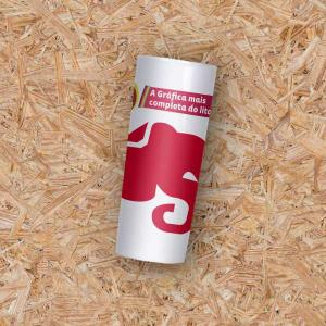 Copo Long Drink - 350ml Plástico  Gravação em Transfer