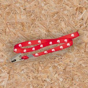 Cordão para Crachás - 15mm Cordão Poliéster 90cm x1,5cm 4X4 - Colorido Frente/Verso Sem Revestimento Corte Reto Sem Extra
