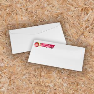 Envelope Pronto Offset 75g Oficio - 11,5X23cm 4X0 - Colorido Frente Sem Revestimento Corte Reto Sem Extra