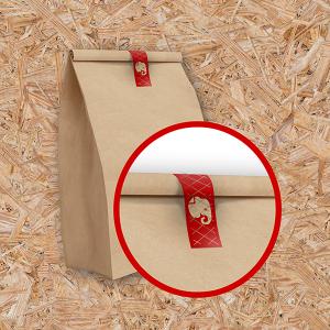 Etiquetas Adesivas Adesivo Segurança Papel Couche  4x0 Sem Revestimento Em Cartela (Corte Redondo, Corte Reto ou Corte Especial) Sem Extras