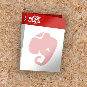 Papel Timbrado Offset 90g A6 - 10x15cm 4X0 - Colorido Frente Sem Revestimento Corte Reto Sem Extra